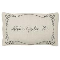 Alpha Epsilon Phi AEPHI Sorority Decorative Pillow