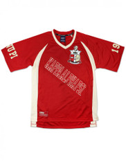 Kappa Alpha Psi Fraternity Football Jersey- Style 2-Front