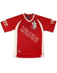 Kappa Alpha Psi Fraternity Football Jersey- Style 2-Front