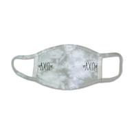 Alpha Chi Omega Sorority Tie-Dye Face Mask-Gray