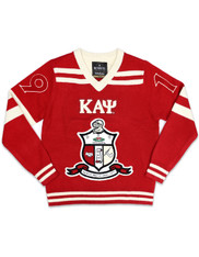 Kappa Alpha Psi Fraternity Pull Over V-Neck Sweater- Front