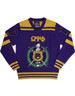 Omega Psi Phi Fraternity Pull Over V-Neck Sweater-Front