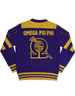 Omega Psi Phi Fraternity Pull Over V-Neck Sweater-Back