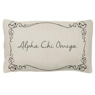 Alpha Chi Omega Sorority Decorative Pillow