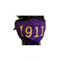 Omega Psi Phi Fraternity Face Mask- Founding Year