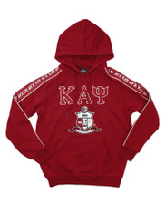 Kappa Alpha Psi Fraternity Hoodie with Stripe