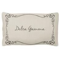 Delta Gamma Sorority Decorative Pillow