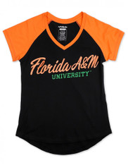 Florida A&M University FAMU V-Neck T-Shirt
