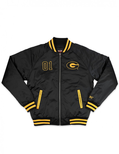 Grambling State University Baseball Jacket - Men's- Front