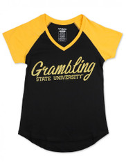 Grambling State University V-Neck T-Shirt