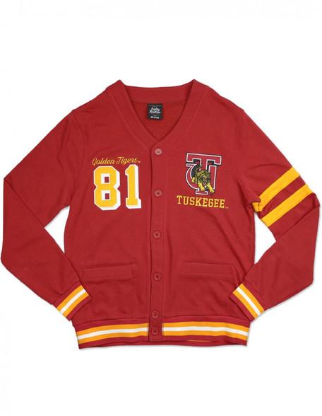 Tuskegee University Cardigan- Men's