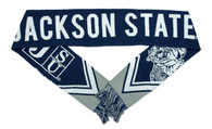 Jackson State University Acrylic Scarf - Gray