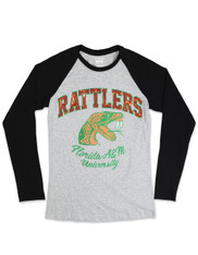 Florida A&M University FAMU Long Sleeve T-Shirt- Gray