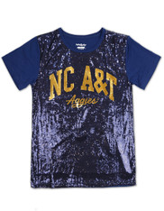 North Carolina A&T State University Sequin Shirt