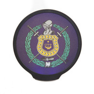 Omega Psi Phi Fraternity LED Car Badge