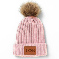 Gamma Phi Beta Sorority Pom Beanie