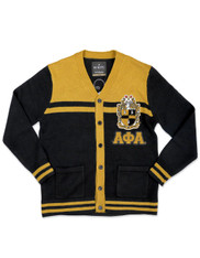 Alpha Phi Alpha Fraternity Button Down Sweater- Front