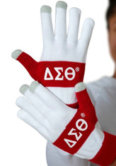 Delta Sigma Theta Sorority Knit Texting Gloves
