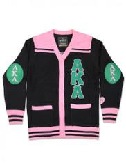 Alpha Kappa Alpha Sorority Button Down Sweater