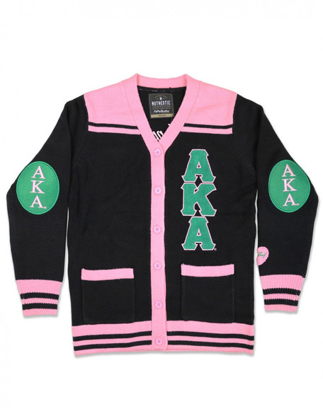 Alpha Kappa Alpha Sorority Button Down Sweater