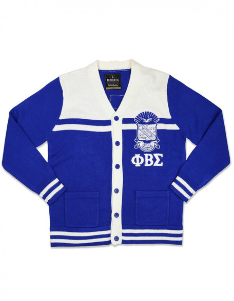 Phi Beta Sigma Fraternity Button Down Sweater
