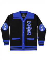 Zeta Phi Beta Sorority Button Down Sweater