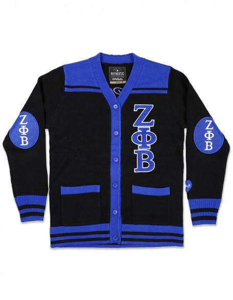 Zeta Phi Beta Sorority Button Down Sweater