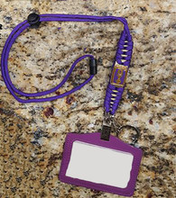 Omega Psi Phi Fraternity Lanyard with Id Holder