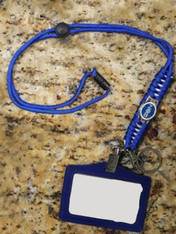 Zeta Phi Beta Sorority Lanyard with Id Holder