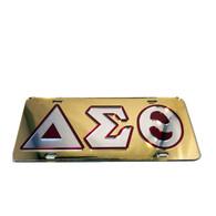 Delta Sigma Theta Sorority License Plate-Gold