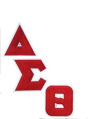 Delta Sigma Theta Sorority Chenille Letter Set