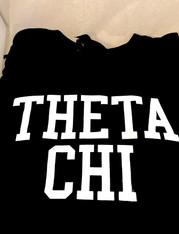 Theta Chi Fraternity Long Sleeve Shirt- Black