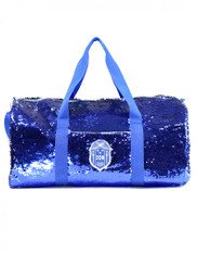 Zeta Phi Beta Sorority Sequin Bag