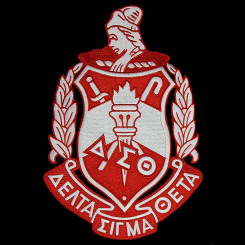 Delta Sigma Theta Sorority Emblem- 10.5 Inches