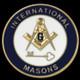 International Mason Lapel Pin