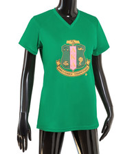 Alpha Kappa Alpha AKA Sorority Performance T-Shirt-Green