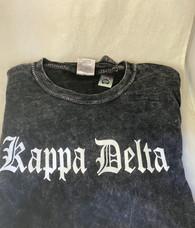 Kappa Delta Sorority Mineral Wash Shirt-Style 2