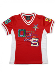 Order of the Eastern Star OES Football Jersey – Sequin