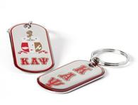 Kappa Alpha Psi Fraternity Dog Tag Key Chain