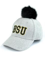 Bowie State University Pom Hat- Gray