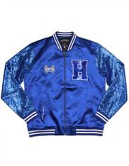 Hampton University Sequin Satin Jacket
