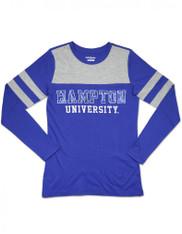 Hampton University Long Sleeve Shirt-Sequin