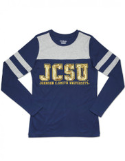 Johnson C. Smith University Long Sleeve Shirt-Sequin