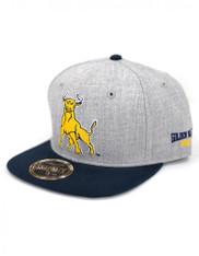 Johnson C. Smith University Snapback Hat- Gray