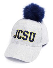 Johnson C. Smith University Pom Hat- Gray