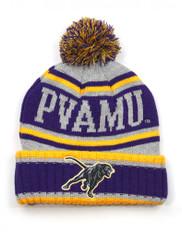Prairie View A&M University PVAMU Pom Beanie- Gray