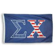 Sigma Chi Fraternity Flag- USA Greek Letters
