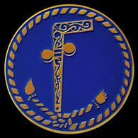 Mason Tubal-Cain Car Emblem