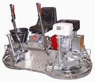 MK8-75 is the industry's smallest ride-on trowel. Perfect for large or small jobs, multi-story flooring and as a compliment to large machines that just can't operate in tight areas.