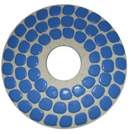 "10.63"" V-Harr Felt Backed Polishing Pad, Grit 1800"